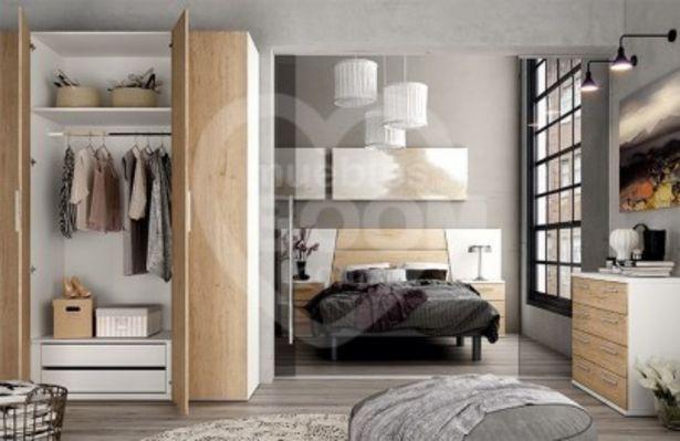Oferta de Dormitorios matrimonio con cómoda 002-195 MAT MOD 75 por 628€
