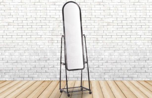 Oferta de Espejo para vestidor de acero 012-906 por 24€