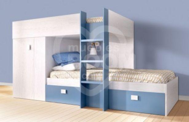 Oferta de Dormitorio juvenil litera tipo tren OFE DIA M2 por 360€