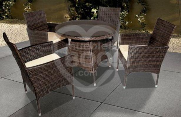 Oferta de Conjunto muebles de jardin 012-925 por 445€