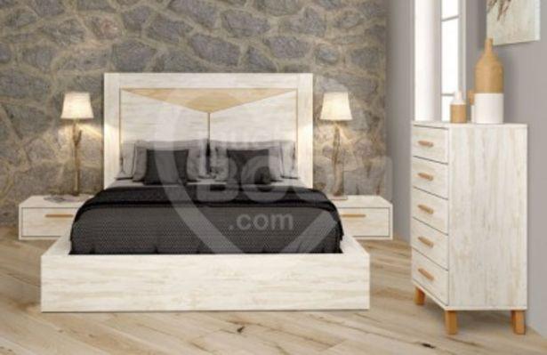 Oferta de Dormitorio adulto cama y 2 mesitas OFE DIA L1 por 197€