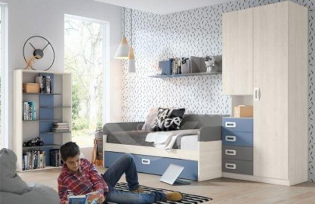 Oferta de Dormitorios juveniles con armario 291-296 por 861€