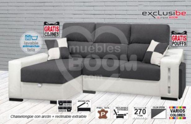 Oferta de Chaise longue extraible reclinable y arcón OFE DIA SD4 por 421€