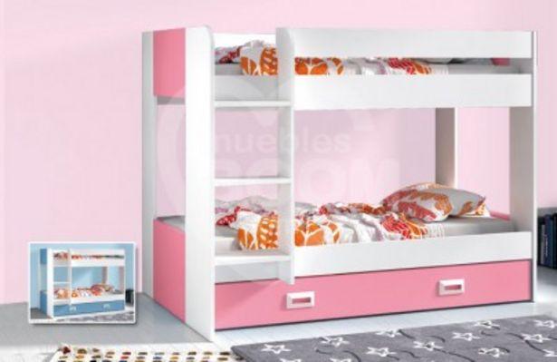 Oferta de Dormitorio litera juvenil COMPLETO muebles según foto OFE DIA M1 por 255€