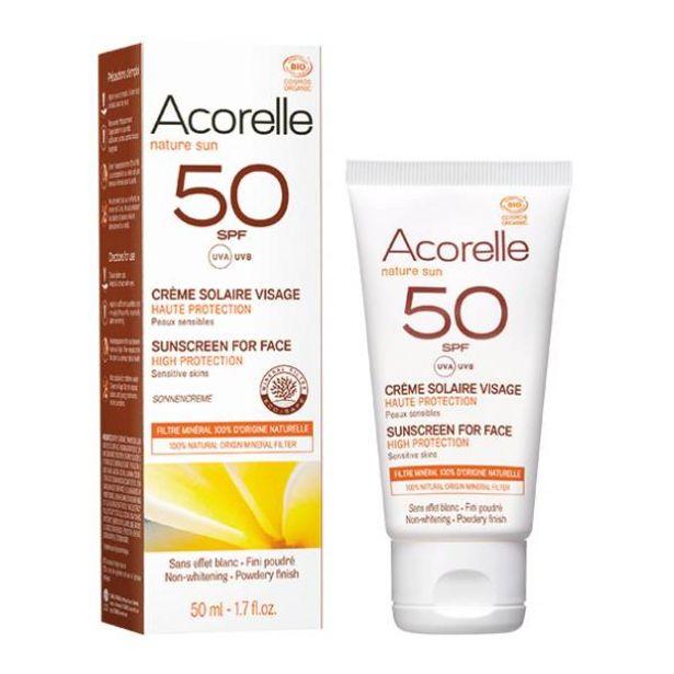 Oferta de Crema Solar Facial Spf 50 por 17,95€