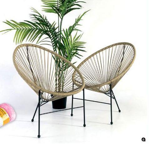 Oferta de Silla de jardín ACAPULCO 2 por 44,99€