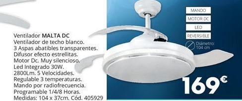 Oferta de Ventilador de techo MALTA  por 169€