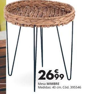 Oferta de Mesa MIMBRE  por 26,99€