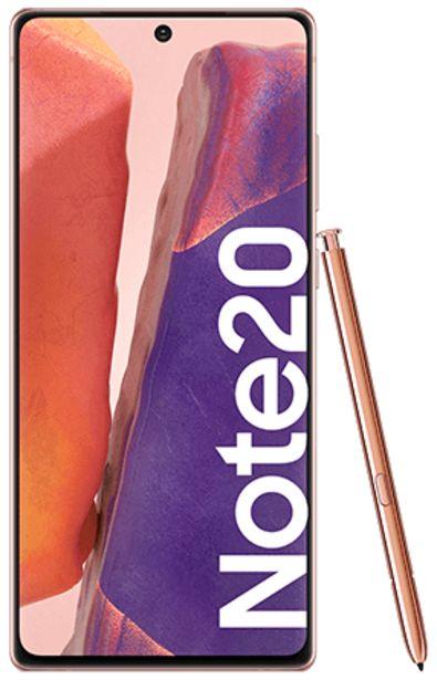 Oferta de Samsung Galaxy Note20 256 GB bronce por 749€