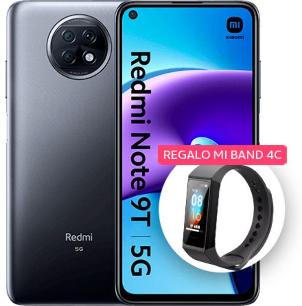 Oferta de Xiaomi Redmi Note 9T 128 GB Negro por 229,99€