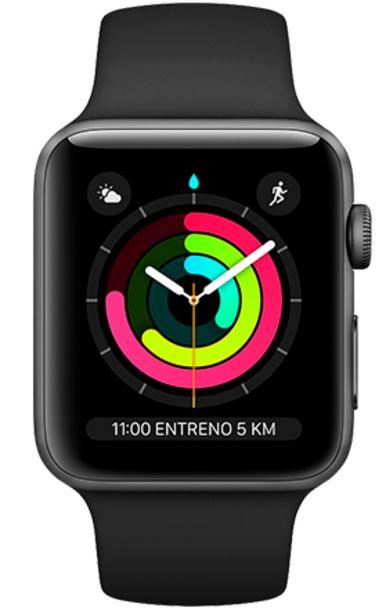 Oferta de Apple Watch Series 3 42 mm - Caja aluminio con correa deportiva blanca por 229€