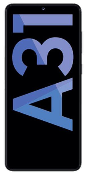 Oferta de Samsung Galaxy A31 128 GB negro por 189€