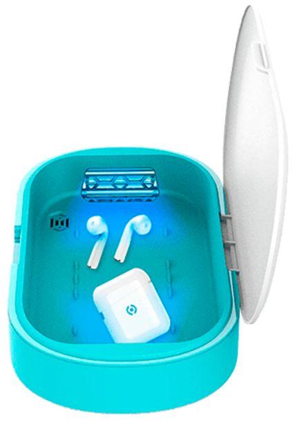 Oferta de Celly Máquina Esterilizadora UV azul por 39,99€
