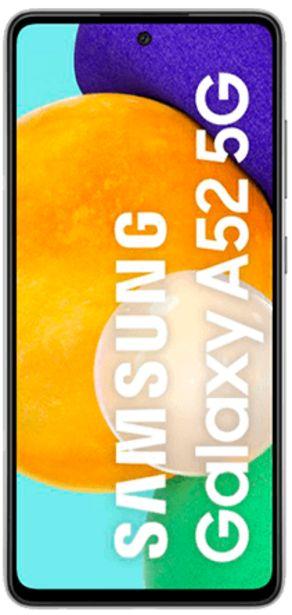 Oferta de Samsung Galaxy A52 5G negro 128 GB por 419€
