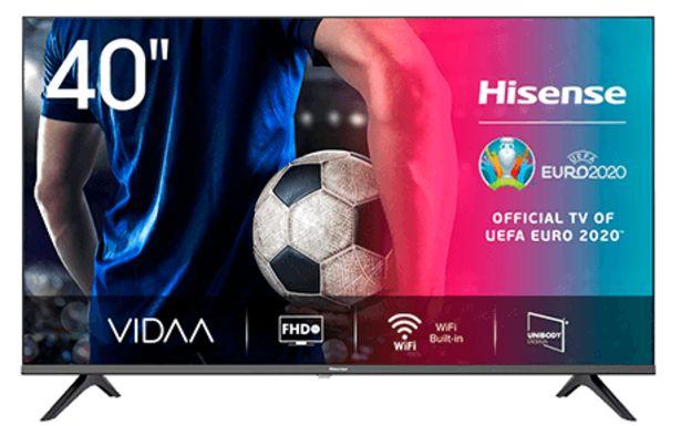 Oferta de Smart TV Hisense 40'' A5600F por 289,99€