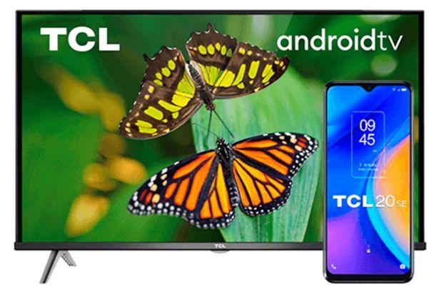Oferta de Pack TCL 20 SE + TCL TV 32S615 por 332€