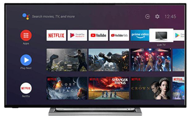 """Oferta de Smart TV Toshiba 50"""" UA3A63DG negro por 499€"""