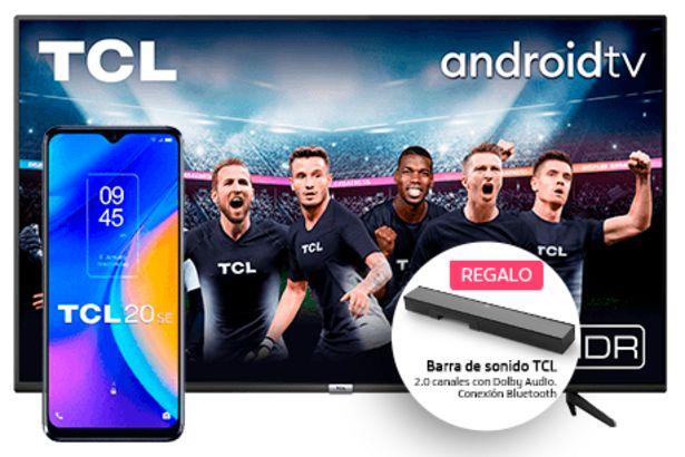 Oferta de Pack TCL 20 SE + TCL TV 50P615 por 559€