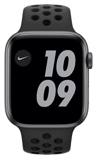 Oferta de Apple Watch Nike SE 44mm Caja space grey / Correa negra por 369€