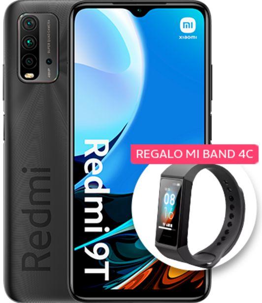 Oferta de Xiaomi Redmi 9T 64GB negro por 159€