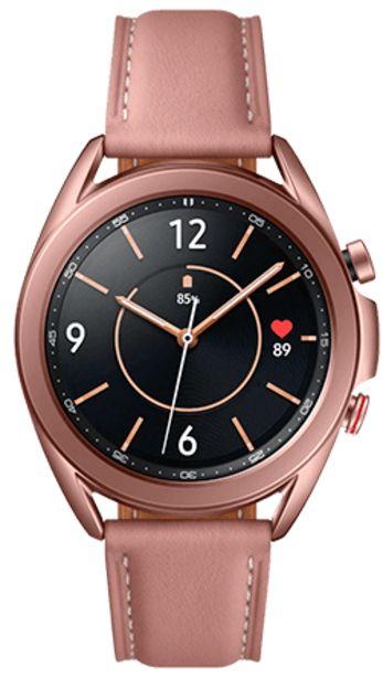 Oferta de Samsung Galaxy Watch3 Bluetooth 41 mm Bronce por 319€