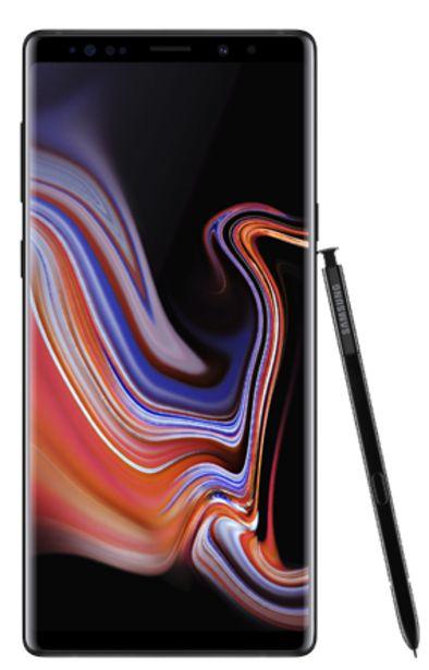 Oferta de Samsung Galaxy Note 9 128 GB Negro por 699€