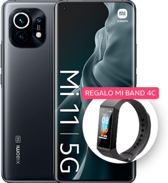 Oferta de Xiaomi Mi 11  256GB Gris con regalo de un Mi Air Purifier 3H por 799€