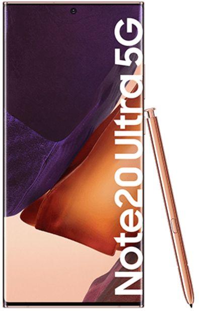 Oferta de Samsung Galaxy Note20 Ultra 5G 256 GB bronce por 949€
