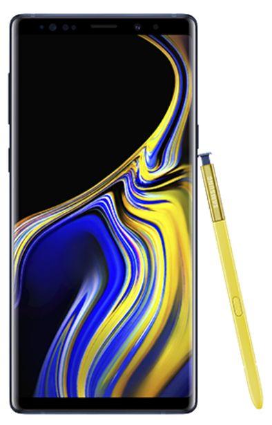 Oferta de Samsung Galaxy Note 9 512 GB Azul por 819€