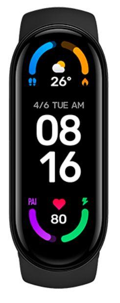 Oferta de Xiaomi Mi Smart Band 6 negro por 44,99€