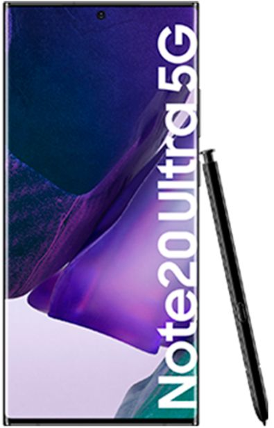 Oferta de Samsung Galaxy Note20 Ultra 5G 256 GB negro por 899€