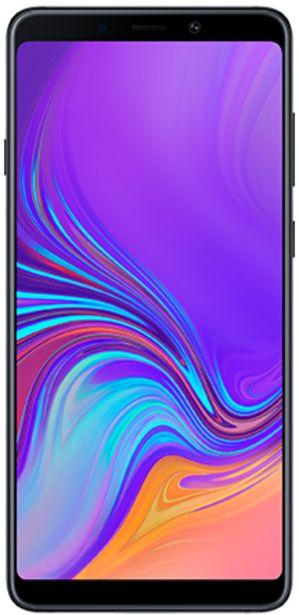 Oferta de Samsung Galaxy A9 negro 128 GB por 379€