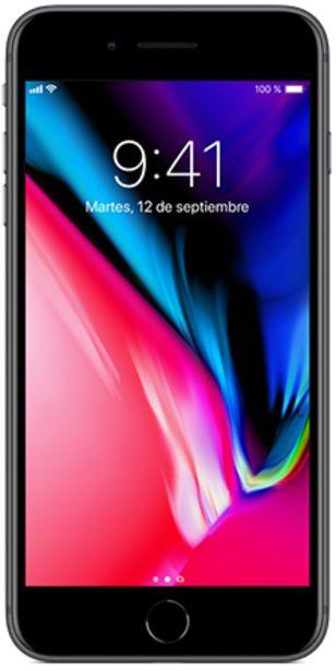 Oferta de IPhone 8 Plus 64 GB Gris espacial Seminuevo por 389€