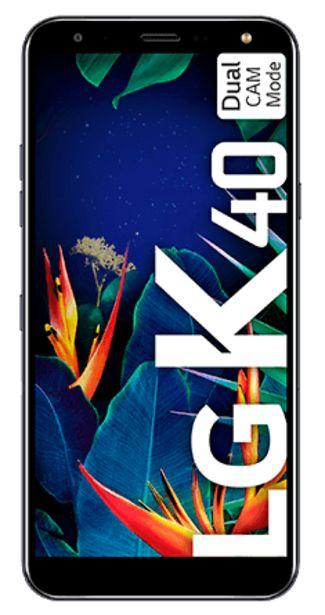 Oferta de LG K40 32 GB negro por 74€