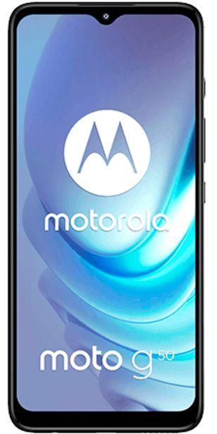 Oferta de Motorola Moto G50 128 GB gris por 199€