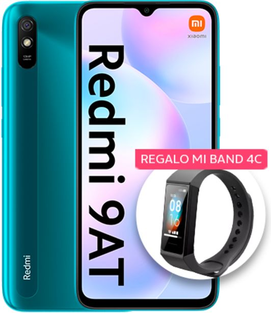 Oferta de Xiaomi Redmi 9AT 32GB Verde por 99€