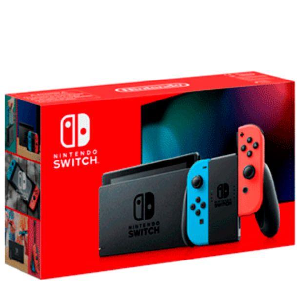 Oferta de Nintendo Switch Azul Neon Rojo Neon por 299,95€