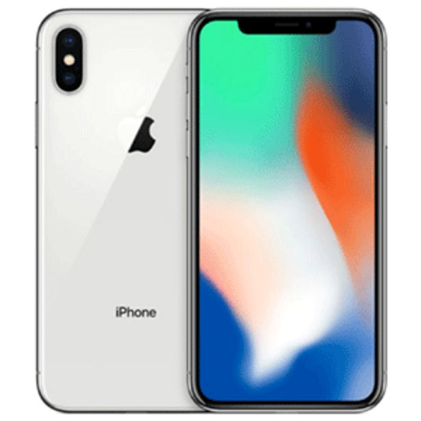 Oferta de IPhone X 256gb Plata por 429,95€