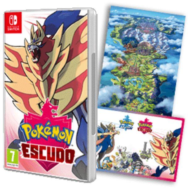 Oferta de Pokémon Escudo por 49,95€