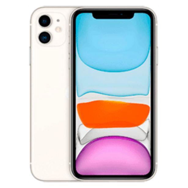 Oferta de IPhone 11 128Gb Blanco por 629,95€