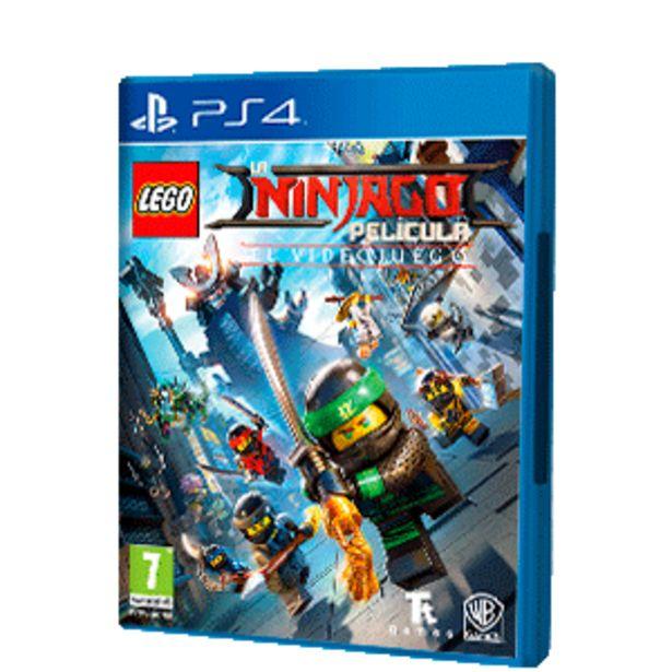 Oferta de Lego Ninjago Película El Videojuego por 16,9€