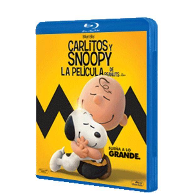 Oferta de Carlitos y Snoopy La Pelicula de Peanuts por 2€