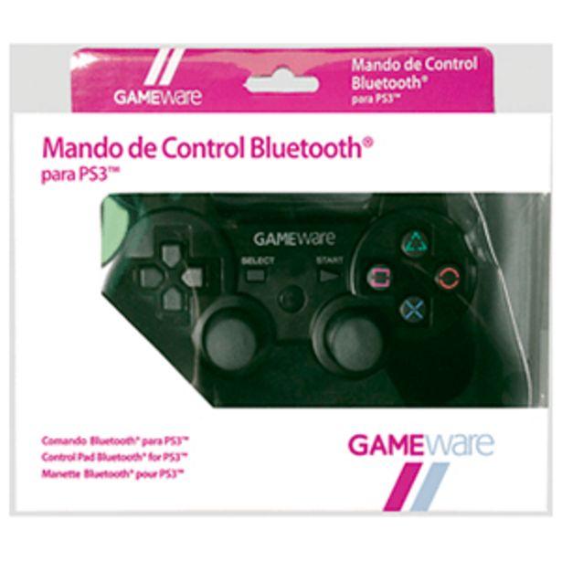 Oferta de Mando de Control Bluetooth Negro GAMEware por 19,95€