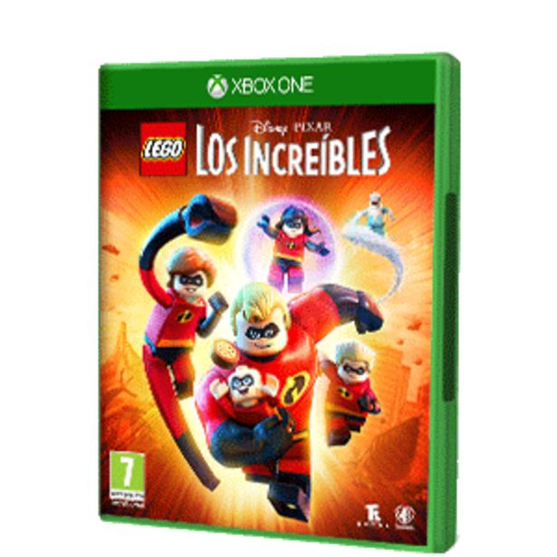 Oferta de LEGO Los Increíbles por 16,95€