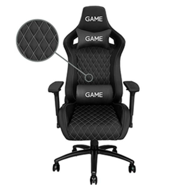 Oferta de GAME RACING Premium GT500 Silver Edition - Silla Gaming por 229€