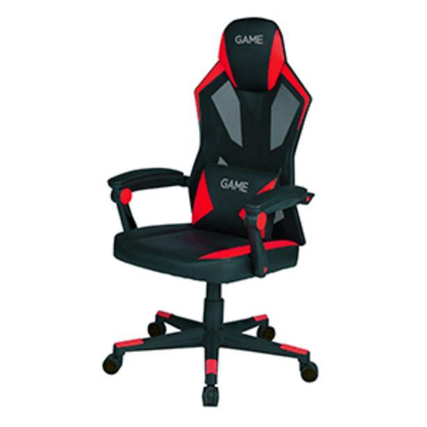 Oferta de GAME Racing AIR AF210 Rojo - Negro - Silla Gaming por 129,95€