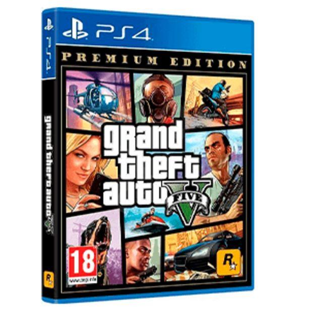 Oferta de Grand Theft Auto V: Premium Edition por 19,95€