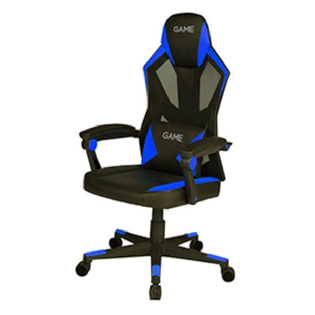 Oferta de GAME Racing AIR AF210 Azul - Negro - Silla Gaming por 119,95€