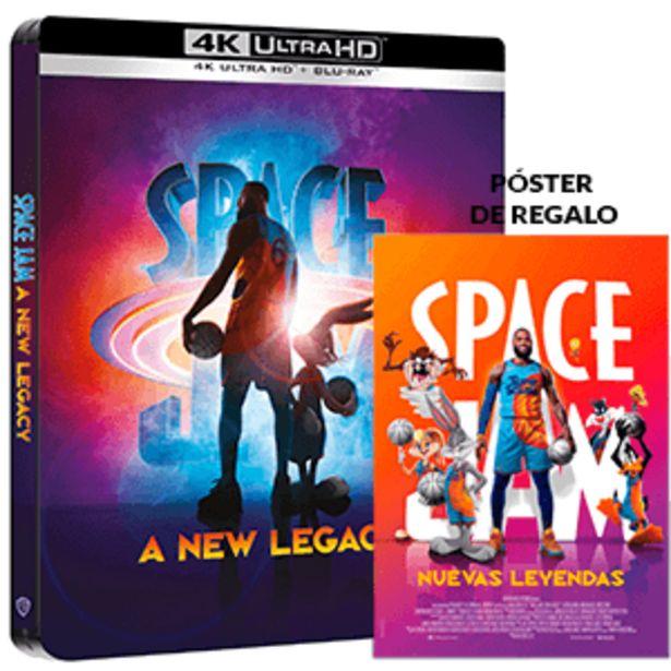 Oferta de Space Jam Nuevas Leyendas 4K + BD Edición Steelbook por 30,95€