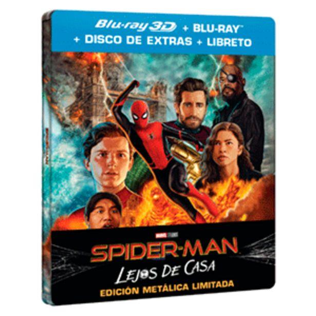 Oferta de Spider-Man Lejos de Casa - Steelbook BD 3D + 2D por 19,95€